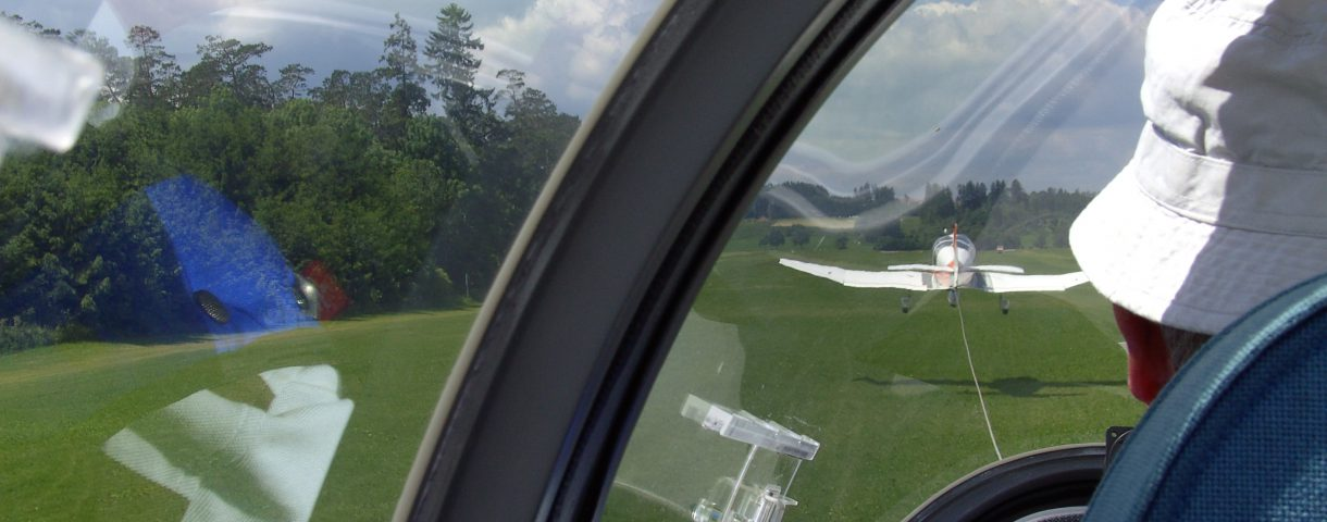 Segelflug Ausbildung F-Schlepp